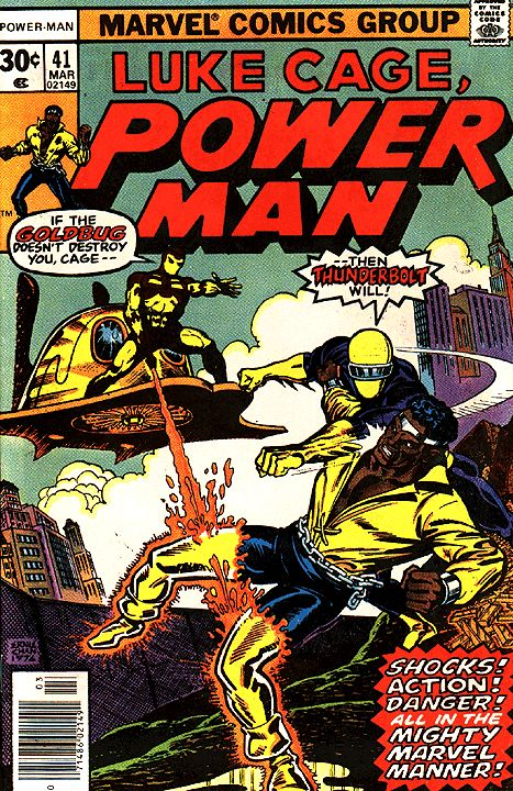 Power Man #41 first appearance of Thunderbolt Marvel Comics