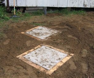 Septic tank easy access