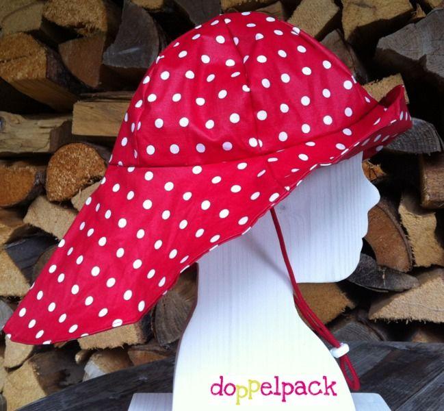 Regenhut mit Nackenschutz Original doppelpack von doppelpack auf DaWanda.com