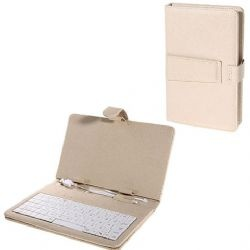 USB Keyboard Leather Case with Stylus for 7 inch Tablet PC (Beige)... for the other thing on the top of my wish list... an iPad.: Tablet Pc, Keyboard Leather, Pc Beige, Inch Usb, Usb Keyboard, Inch Tablet, Leather Case, 13 60 Ipad