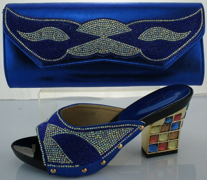 Neue Kommende Afrikanischen Sandalen Italienische Schuhe Und Taschen Zu Entsprechen Hochwertigen Italienischen Passenden Schuhe Und Taschen Sets Für Hochzeit ME2217 //Price: $US $55.74 & FREE Shipping //     #cocktailkleider
