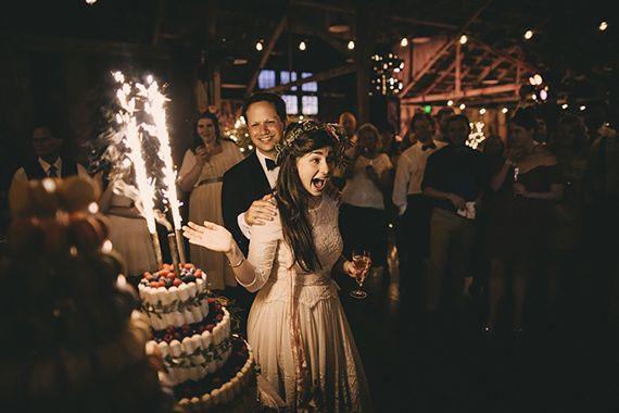 Vintage Carmel wedding | photo by Josh Goleman of Wedding Artist Collective | 100 Layer Cake