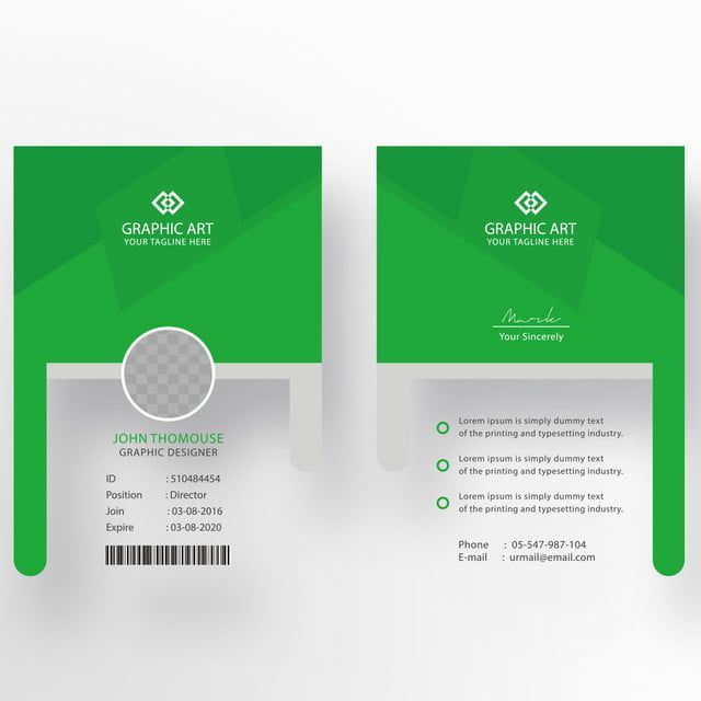 Office Id Card Template In 2020 Id Card Template Visiting Card Templates Identity Card Design
