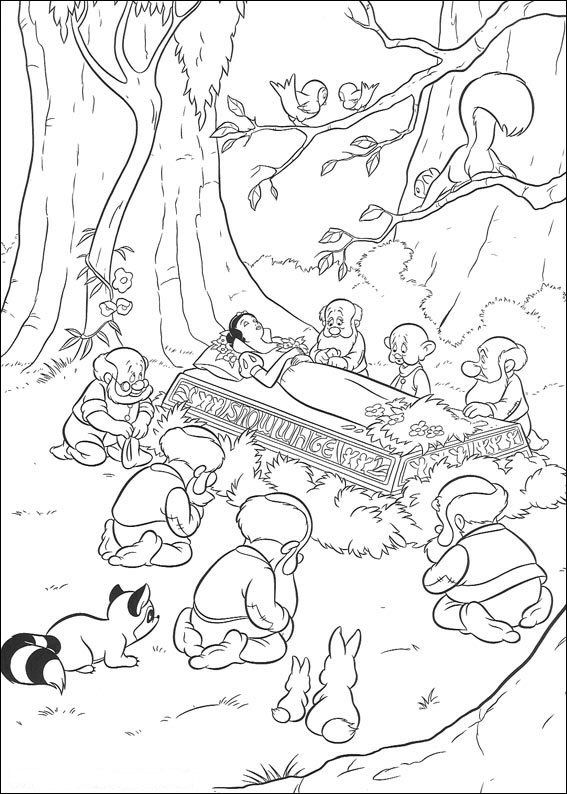 1000  ideas about snow white coloring pages on pinterest