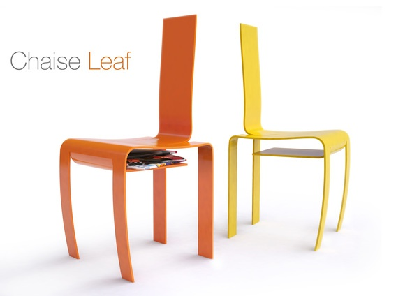 Chaise Leaf 2009 by Petit Romain, via Behance