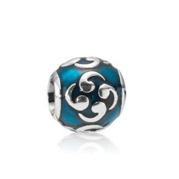 Pandora Beads - Silver charm, enamel