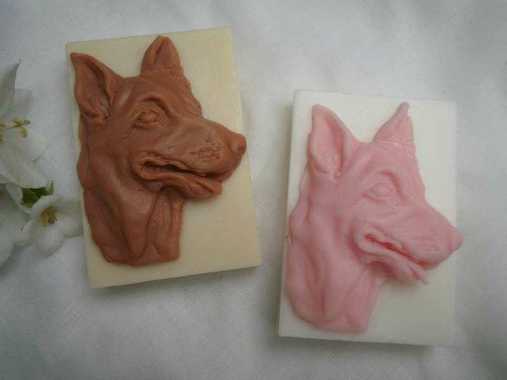 handmade soap Německý ovčák