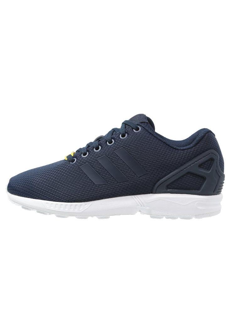 adidas Originals ZX FLUX - Sneakers laag - new navy/running white - Zalando.nl