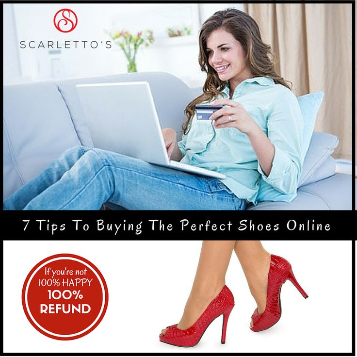 Nervous about shopping for shoes online? Don't be - here's 7 Tips to help you avoid any pitfalls and successfully buy shoes online.