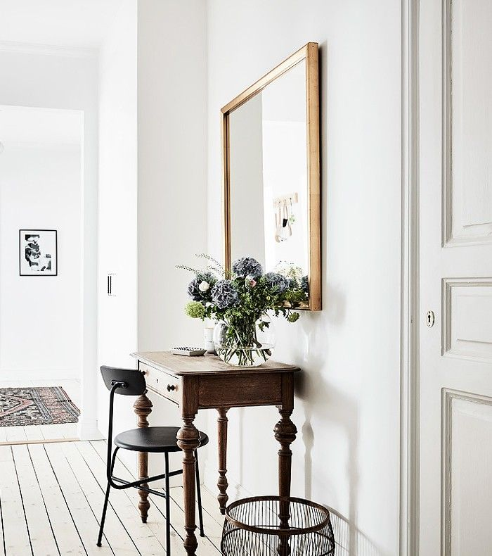 This Home Proves the Swedish Are Born With an Eye for Interior Design via @MyDomaine