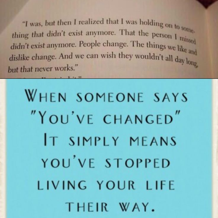 Change is something we all grow through we tend to beat