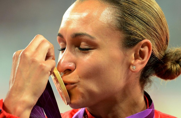Sports Photographer of the Year 2012  Owen Humphreys    Press Association Great Britain's Jessica Ennis celebrates winning the Heptathlon