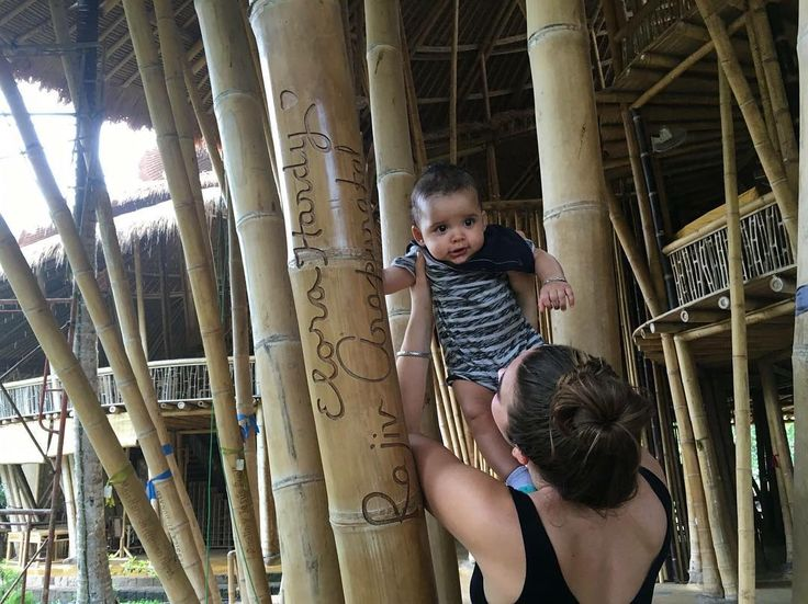 Bamboo is a promise to the kids. It's one sustainable material that they will not run out of. #greenschool #bamboo #ibukubali by ibukubali