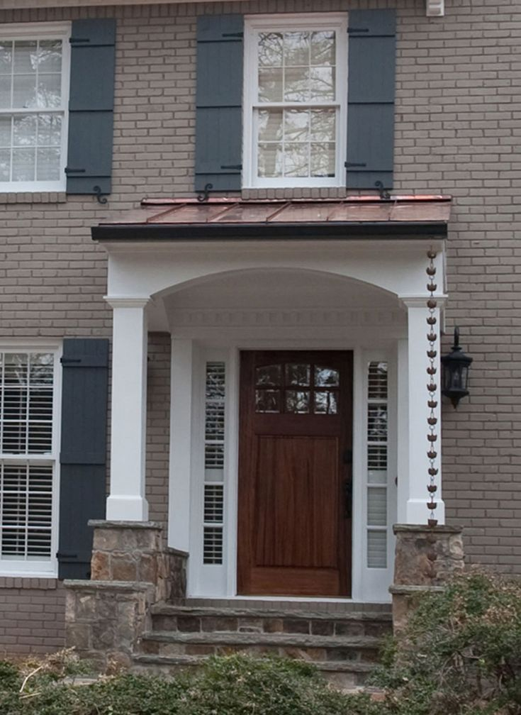 44 best images about front porch on pinterest columns for Portico entrance with columns