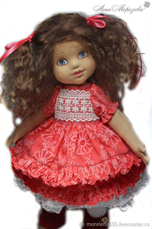 Buy Milan. Author's textile doll on Livemaster online shop