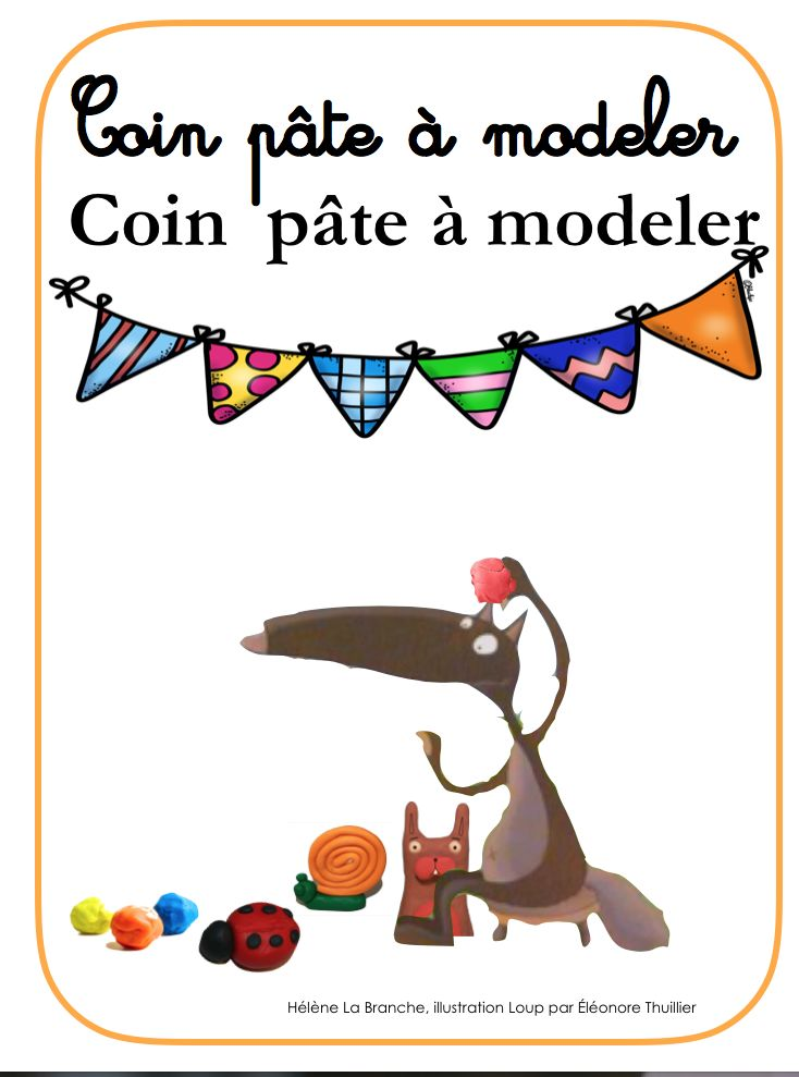 Coin pâte à modeler