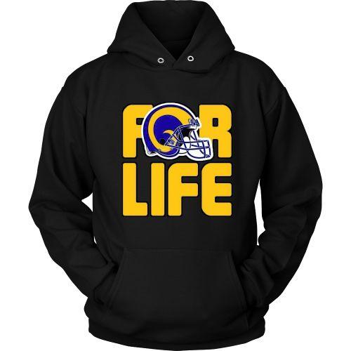 """LA Rams """"For Life"""" Hoodie"""