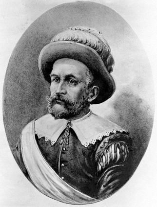 "Peter Minuit,Pieter Minuit,Pierre Minuit or Peter Minnewit(ab.1594-1638)was a Walloon from Wesel,in present-day North Rhine-Westphalia,Germany, then part of the Duchy of Cleves.His surname means ""midnight.""He was Director of the Dutch colony of New Netherland-1626-31,founded the Swedish colony of N.Sweden-1638.He is generally credited with orchestrating the purchase of Manhattan Island for the Dutch from the Native Americans called the Lenape,later-city of New Amsterdam,modern-day New York…"