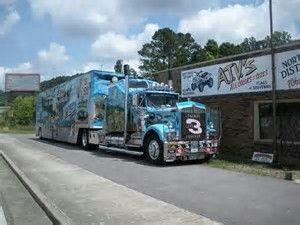 Image result for NASCAR Hauler Trucks