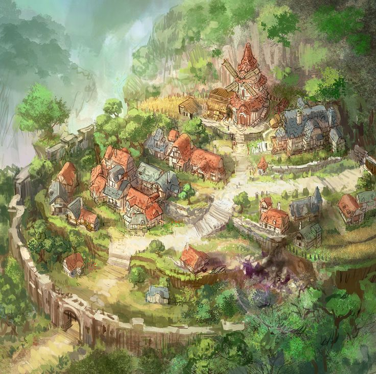 "Aiming ""Project Caravan"" Express a vast field & many characters in hand-drawn illustrations like 3D 