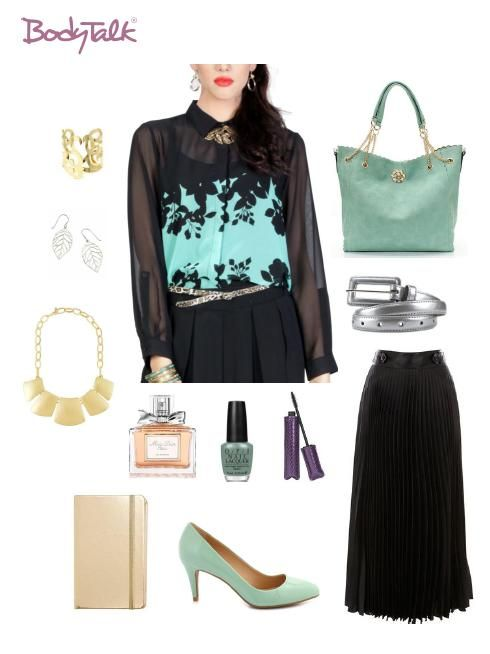 "Be stylish for work in our ""Foglia blouse"", cocok juga untuk hang out dengan rekan-rekan sepulang kerja. Get it now IDR 269,900 only at http://ow.ly/w0XXP #OOTD"