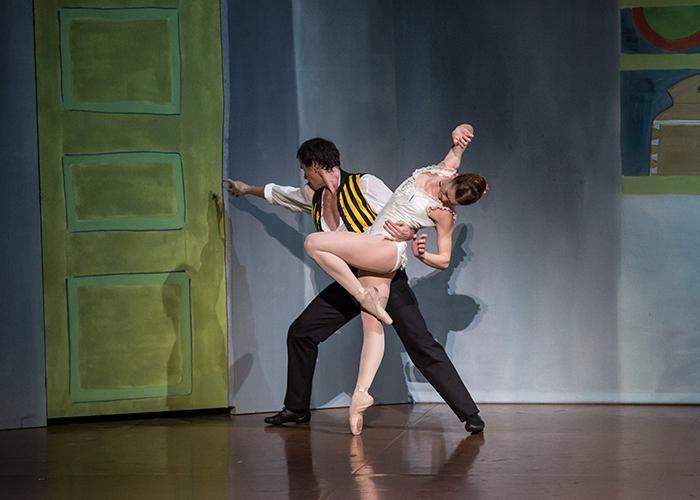 Paris Opéra - Nicolas Le Riche and Aurélie Dupont in Birgit Cullberg's Miss Julie. Photo: Emma Kauldhar