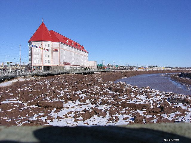 Chateau Moncton & Petitcodiac River - Moncton, NB - Canada | Flickr - Photo Sharing!