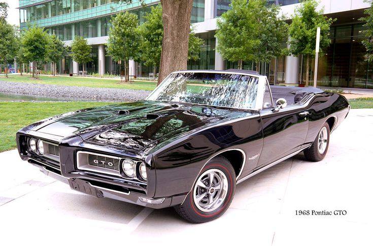 1968 Pontiac GTO Convertible. Awesome American Muscle!