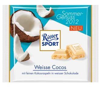 RITTER SPORT Weisse Cocos (2012)