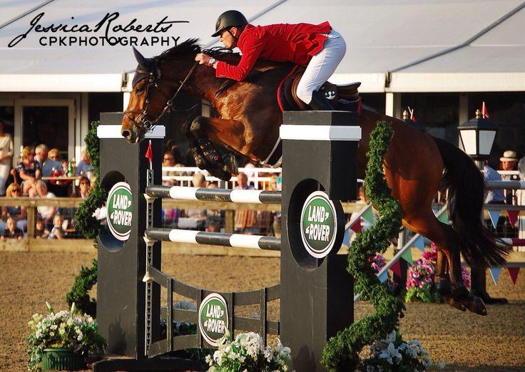 Show Jumping at Royal Windsor Horse Show 2014