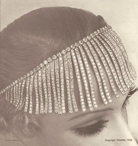 Coco Chanel 1920's head piece
