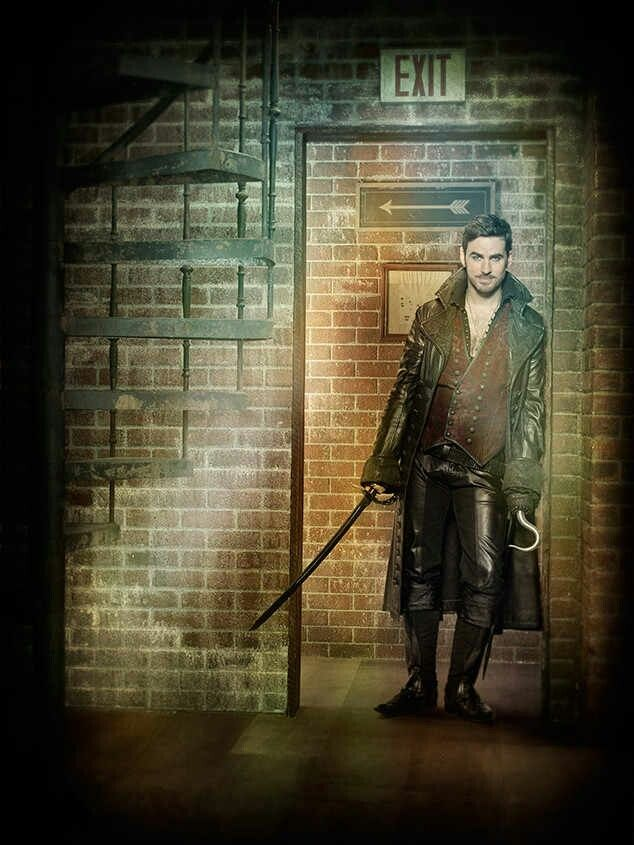 Hook (Colin O'Donoghue) As one of the three series regulars to stick around from season six, Hook will go by Rogers in the new Hyperion Heights neighborhood. Make that Officer Rogers. That's right: Hook's a cop.
