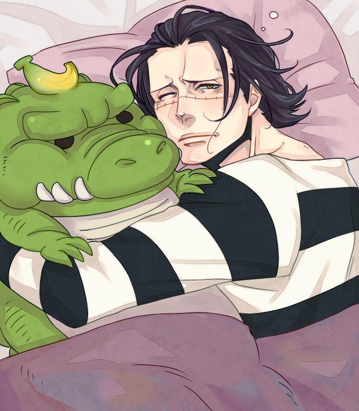 Look at that Banana Gator! :3   Sir Crocodile  One Piece