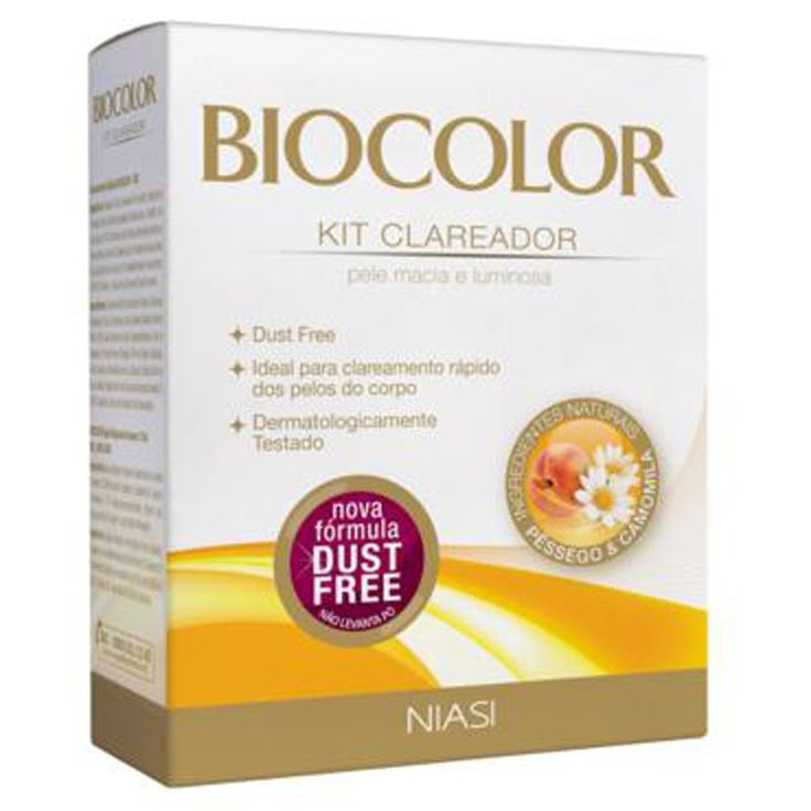 descolorante de pêlos biocolor