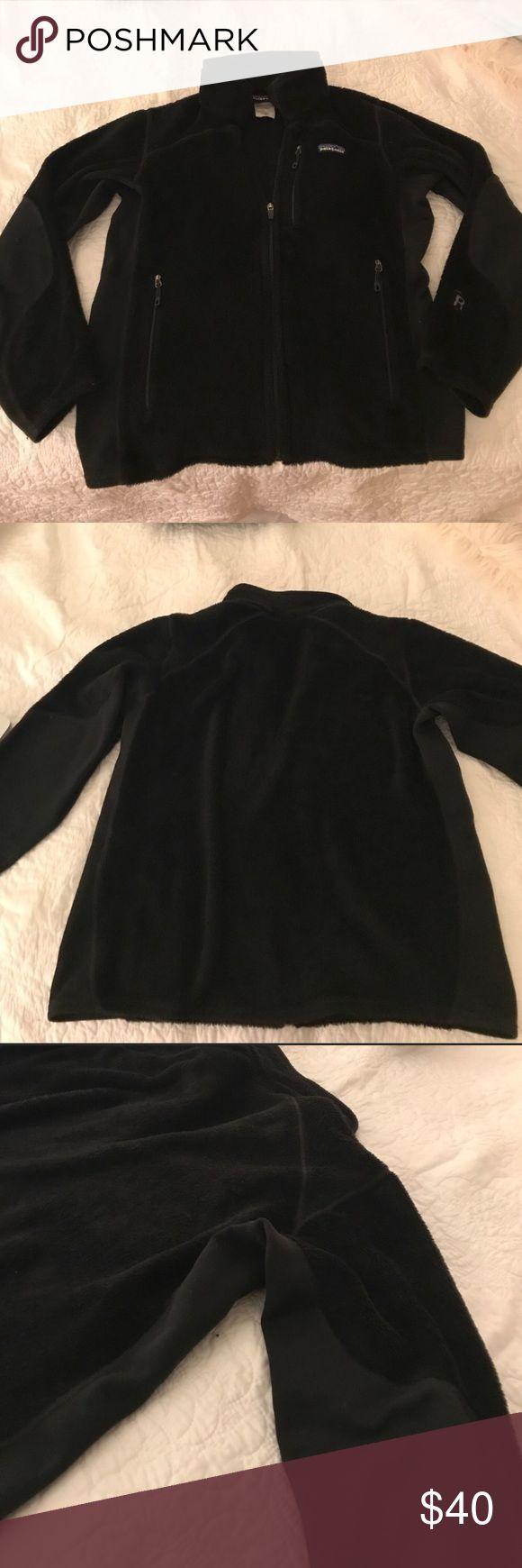 Patagonia fleece jacket sz M Black Patagonia fleece jacket. Size medium. R series. Good condition. Super comfortable. Patagonia Jackets & Coats