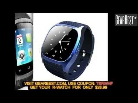 RWATCH M26 Smartwach from Gearbest - Mobiles-Coupons