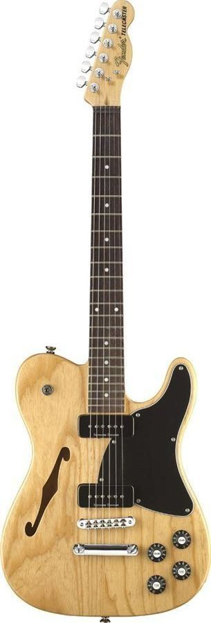 Fender Jim Adkins JA-90 Telecaster Thinline Electric Guitar When Jimmy Eat World guitarist and frontman Jim Adkins collaborated with Fender in designing his perfect guitar, the result was his signatur