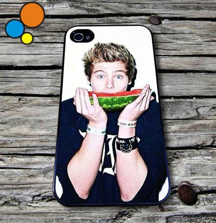 Luke hemmings watermelon Case for iPhone iPod case 5 SOS iPhone Case