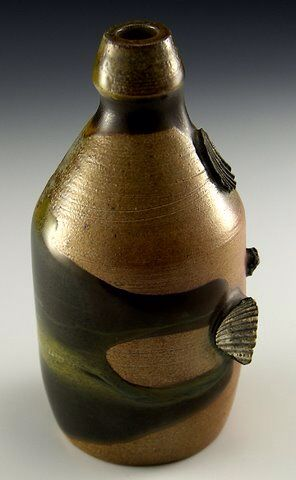 Ginger beer form  Fired w local materials   http:\\www.kingspointpottery.com\