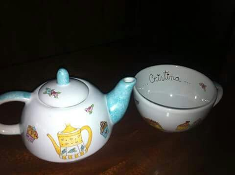 Tea for one...English