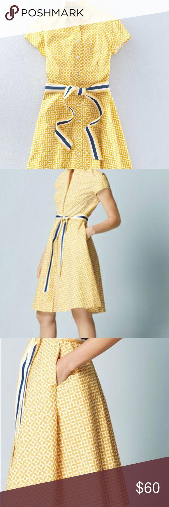 🌻🍭🍭🍭🎉Boden Sophia Shirt Dress Day At Boden Boden Sophia Shirt Dre…