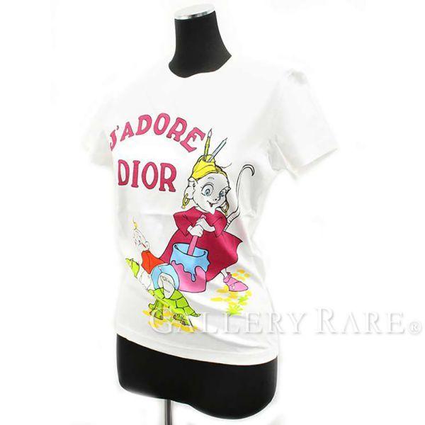 クリスチャン・ディオール Tシャツ セット レディースサイズ38 コットン Christian Dior シャツ Summer Holiday 2002 レア 服