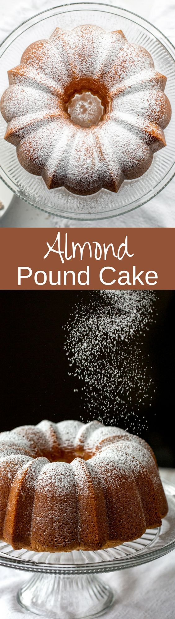 Perfect Every Time - Almond Pound Cake - tender and buttery, this pound cake is always a winner. Great toasted, served plain, with ice cream or added to trifles or as a layer in an ice cream freezer cake. www.savingdessert.com