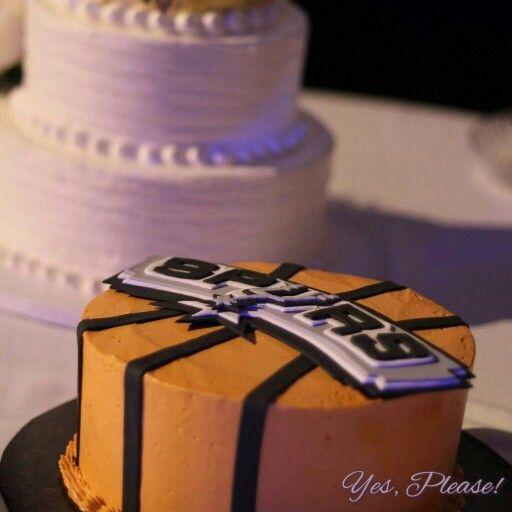 San Antonio Spurs groom's cake