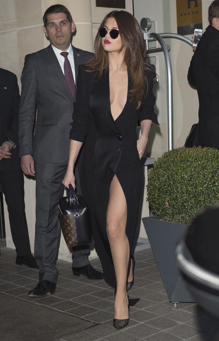 Selena Gomez in ST. LOUIS   Bengal Polarized during Paris Fashion Week 2016