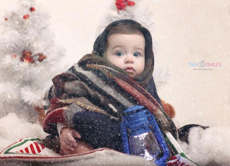 Children photography, kids photo session, studio photography, Christmas children family