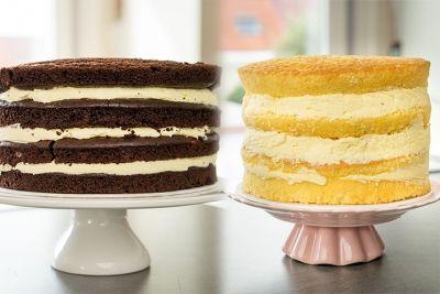 Zubereitung: 20 Min. Kühlzeit: 2 Stunden Menge für hohe Motivtorten (hier 26 cm Torte): 660 ml Milch 135 g Zucker 1 TL Vanilleextrakt oder 1...
