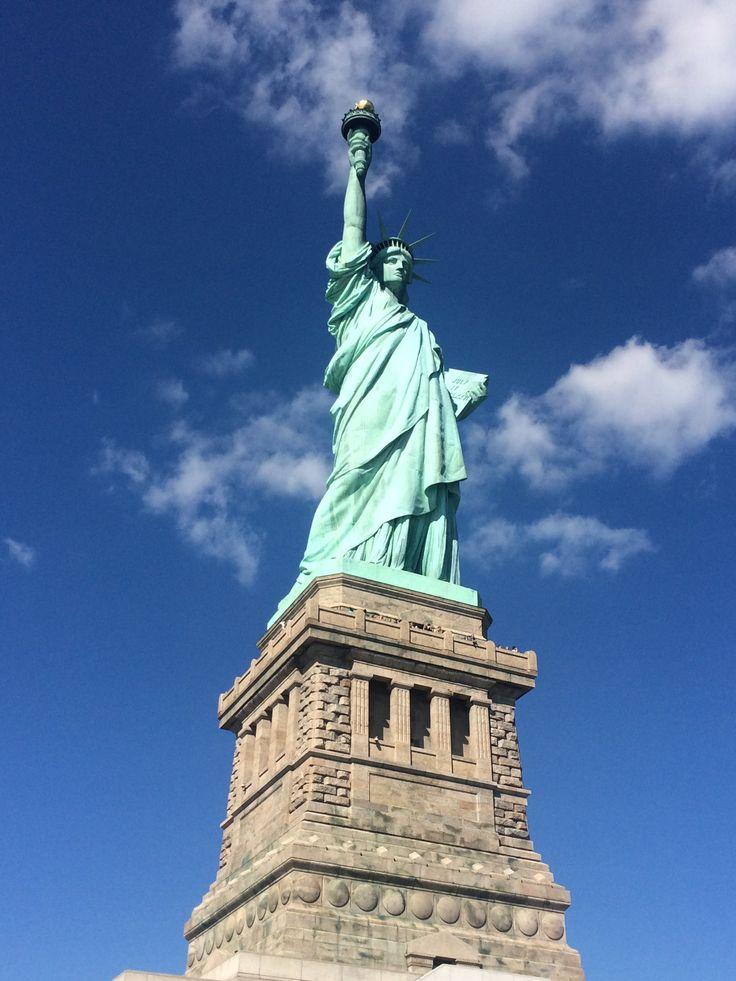 Statue of Liberty on Liberty Island New York © Sarah Murphy
