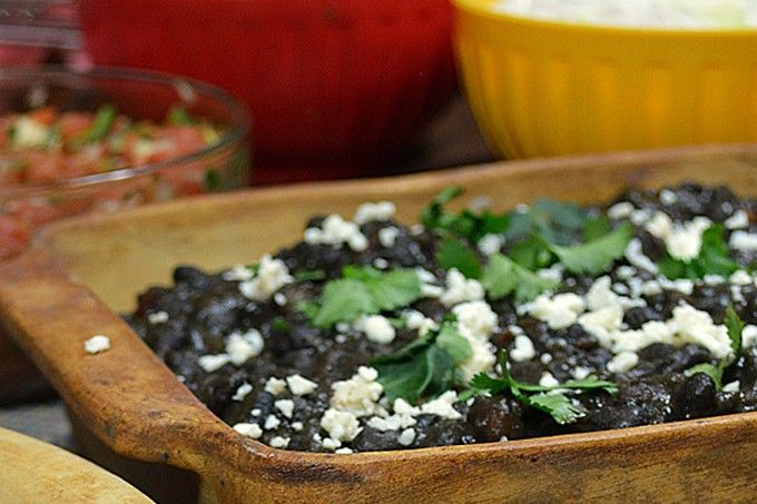Frijoles Negros and Modelo | Recipe
