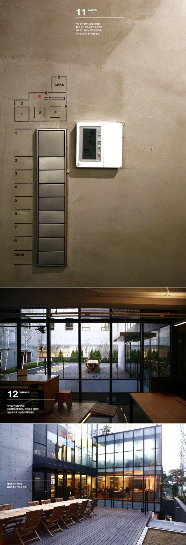 Plus X New Office Space Design by Plus X , via Behance